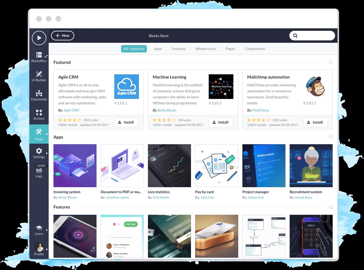 Platform Screenshot