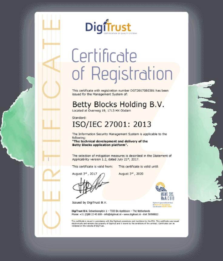 certificate digitrust