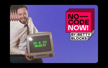Blue block - No-Code Now!